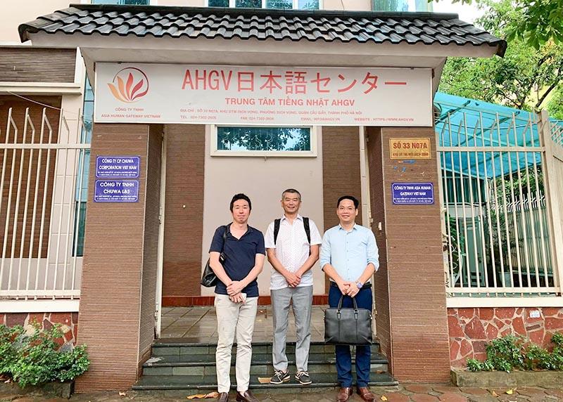 Bí thư ĐSQ Nhật Bản Mr Hayashi Mikio đến thăm trung tâm AHGV